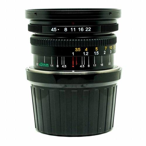 Mamiya 45mm f/4.5L including finder