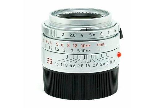 Leica 35mm f/2 Summicron ASPH Silver Chrome
