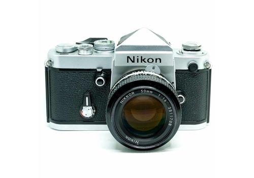 Nikon F2 Silver + 50mm f/1.4