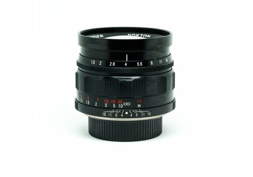 Voigtlander 50mm f/1.5 NOKTON