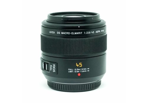 Panasonic Lumix 45mm f/2.8 ASPH Macro