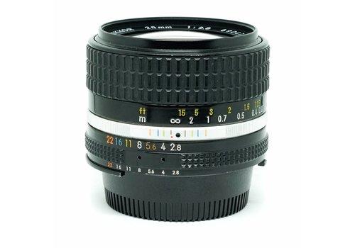 Nikon Nikkor 28mm f2.8 nAis