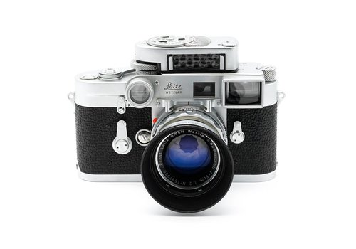 Leica M3 Outfit, includes 5cm (50mm) Summicron f/2 MR Meter & Hood
