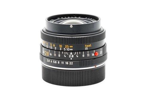 Leica 28mm f/2.8 Emarit - R (ROM)