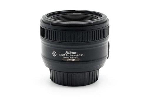 Nikon 50mm AF-S f/1.8 G