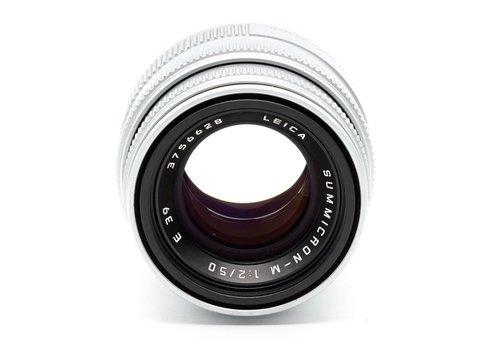 Leica 50mm f/2.0 Summicron M Silver Chrome