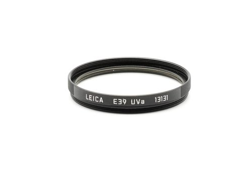 Leica E39 UVa Black (13131)
