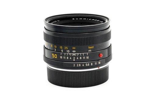 Leica 50mm f/2.0 Summicron R