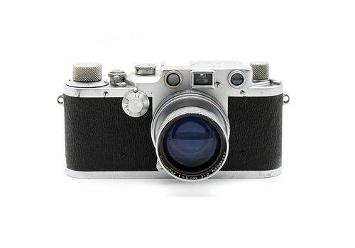 Leica IIIc and 5cm f/2.0 Summitar