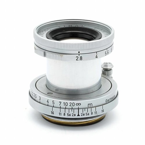 Leica 5cm (50mm) f/2.8 Elmar & Screw-M Adapter