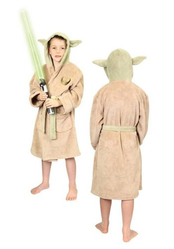 Star Wars Kids Fleece Bathrobe Yoda