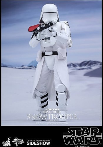 Star Wars - Episode VII: First Order Snowtrooper Officer 1:6 figure