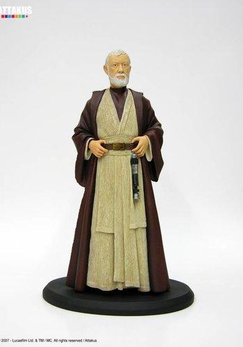 """Attakus Star Wars - Obi-Wan Kenobi Cold-Cast 15"""" Statue"""
