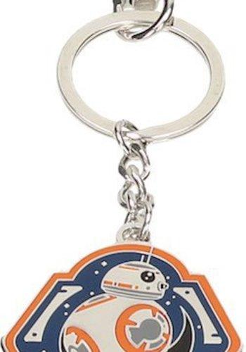 Star Wars The Force Awakens: BB-8 Orange Edge Metal Keychain