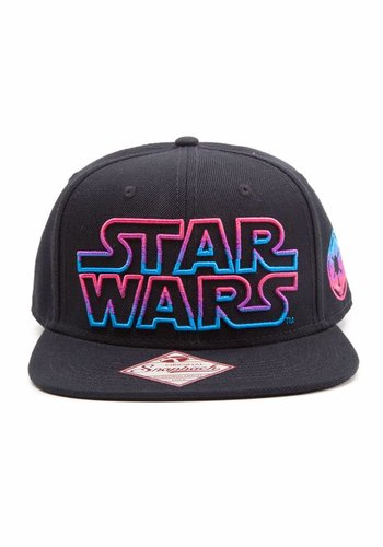 Star Wars: Snapback cap with logo in front