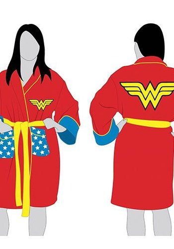 DC Comics: Wonder Woman Retro Hoodless Bathrobe