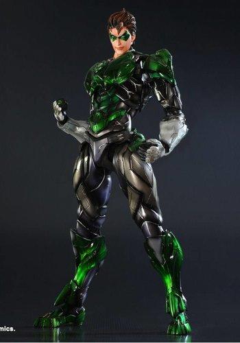 Dc Comics Variant Play Arts Kai Action Figure Green Lantern 28 cm