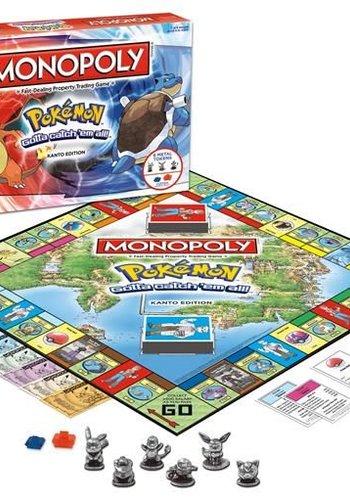Monopoly: Pokemon Kanto Edition (Eng)