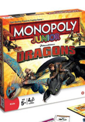 Monopoly junior how to train your dragon