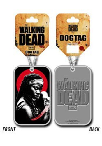 The Walking Dead Dog Tag with ball chain Michonne