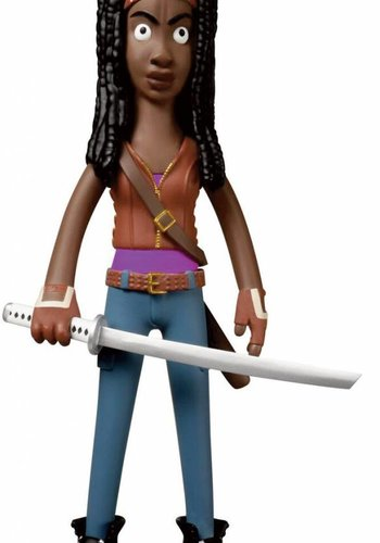 Walking Dead Vinyl Sugar Figure Vinyl Idolz Michonne
