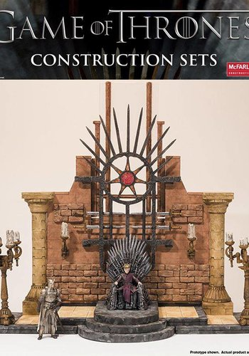 Game of Thrones: Building Sets - Iron Throne Room