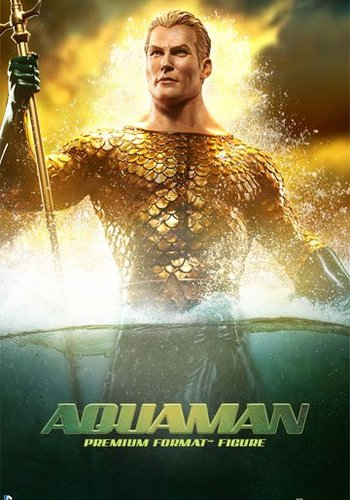Aquaman Premium Format Statue(showmodel)
