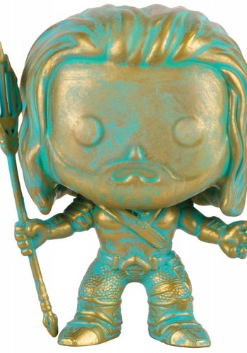 Pop! Heroes: Batman vs Superman Aquaman Bronzed Patina