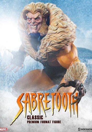 Sideshow Sabretooth Classic Premium Format Statue