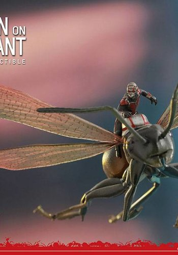 Hottoys Ant-Man: Ant-Man on Flying Ant - MMS Compact Figure