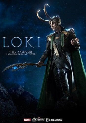 Sideshow Loki The Avengers Premium Format