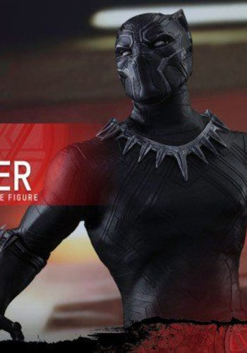 Hottoys Captain America Civil War: Black Panther Sixth scale Figure
