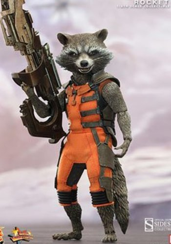 Sideshow Guardians of the Galaxy Movie Masterpiece Action Figure 1/6 Rocket 16 cm