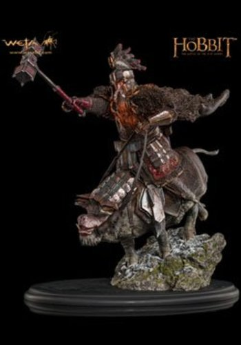 WETA Workshops The Hobbit The Battle of the Five Armies Statue 1/6 Dain Ironfoot on War Boar 39 cm