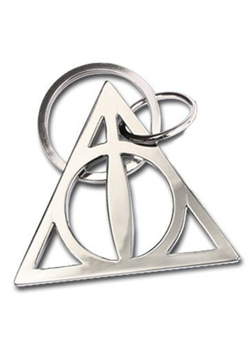 Harry Potter Metal Keychain Deathly Hallows 5 cm