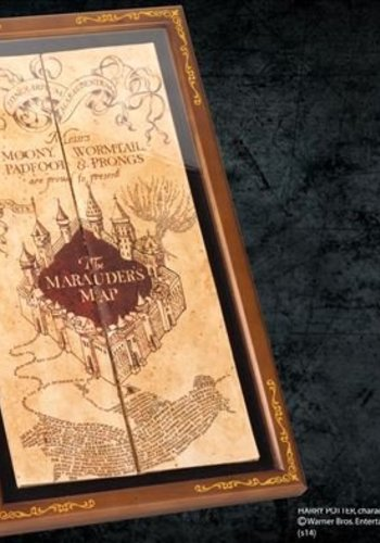 Harry Potter Marauders Map Display Case