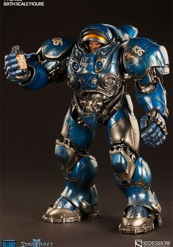 Sideshow Starcraft: Terran Space Marine - Tychus - Sixth Scale Figure