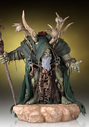 Warcraft The Beginning Statue Gul'Dan 46 cm
