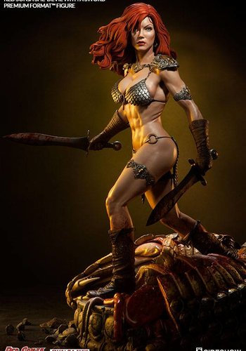 Sideshow Red Sonja She-Devil with a sword - Premium Format Statue