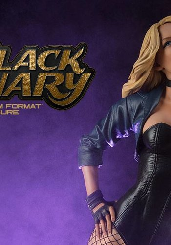 Sideshow Black Canary Premium Format Statue-Sideshow