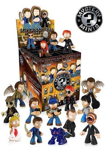 Supernatural Mystery Minis Vinyl Mini Figures 6 cm