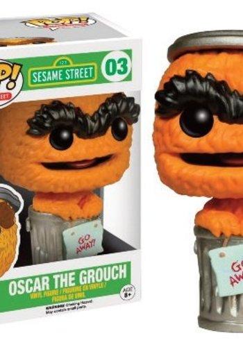 Pop! TV: Sesame Street - Orange Oscar Limited Edition