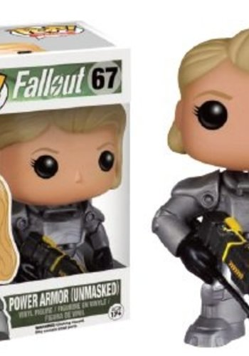 Pop! Games: Fallout - Female Warrior In Power Armor LE