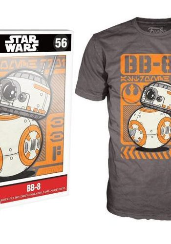 Pop! Tees: Star Wars - BB-8 Rolling size S