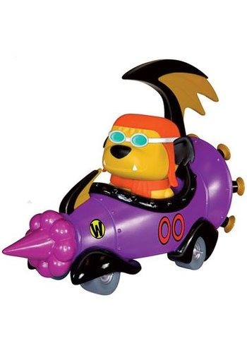 Hanna Barbera POP! Rides Vinyl Vehicle with Figure Wacky Races Mean Machine 20 cm