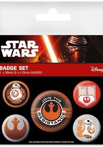 Star Wars Episode VII Resistance - Buttons