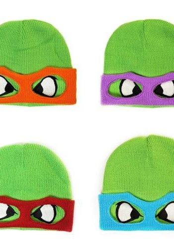 Retro Turtles - Face Beanie Mikey