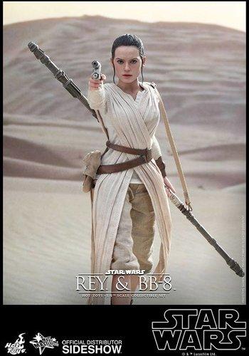 Star Wars The Force Awakens: Rey 1:6 scale figure