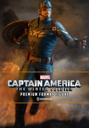 Sideshow Marvel: Captain America Premium Format Figure
