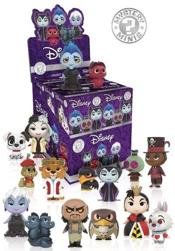 Mystery Mini: Disney Villains Bindbox